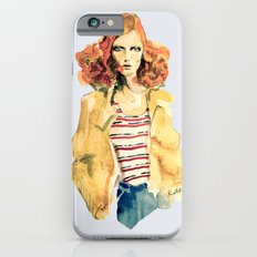 Portrait of Karen Elson iPhone 6 Slim Case