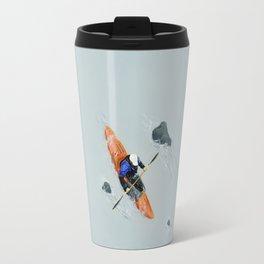 Solitude- Kayaker Travel Mug