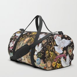 World Peace frequency love Duffle Bag