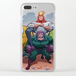 The Wrecking Crew Clear iPhone Case