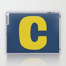 Yellow C Laptop & iPad Skin