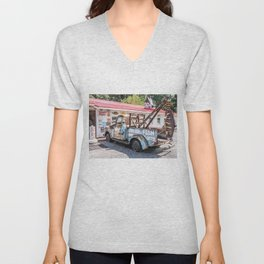 Fresh Fish Truck Unisex V-Neck