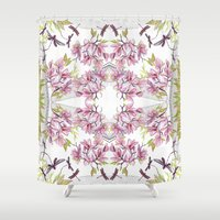 fairy tale Shower Curtains featuring Fairy tale  by GigiMoll