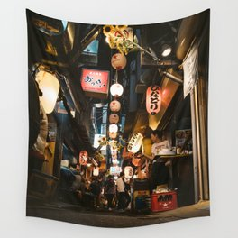 Omoide Yokocho. Wall Tapestry