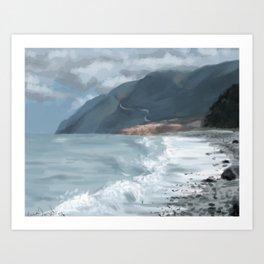 Cabot Trail 2 Art Print