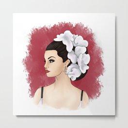 Selena Metal Print