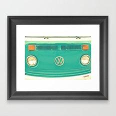 Groovy VW Framed Art Print
