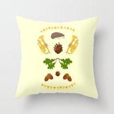 Igelkotta kalaset Throw Pillow