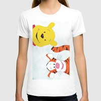 winnie the pooh T-shirts featuring winnie the pooh and tigger by Art_By_Sarah