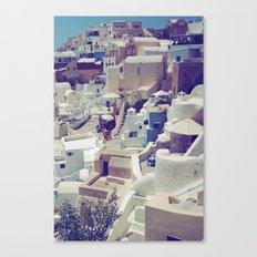 Oia, Santorini, Greece Canvas Print