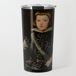 "Diego Velázquez ""Infant Baltasar Carlos"" Travel Mug"