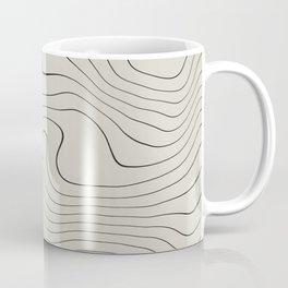 Line Distortion #1 Coffee Mug