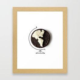 Oreo world Framed Art Print