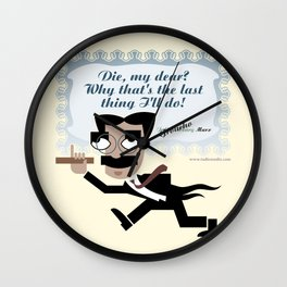 Groucho forever Wall Clock