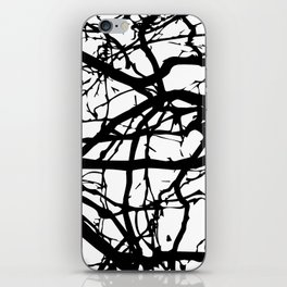 black branches iPhone Skin