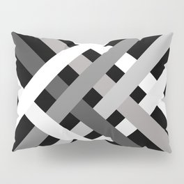 BNW Criss Cross Pillow Sham
