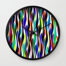 Colorful seaweed Wall Clock