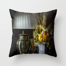 Harvest Decor Throw Pillow