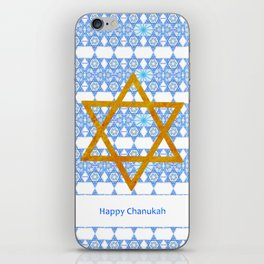 Happy Chanukah! iPhone Skin