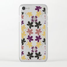 Violet Scent Clear iPhone Case