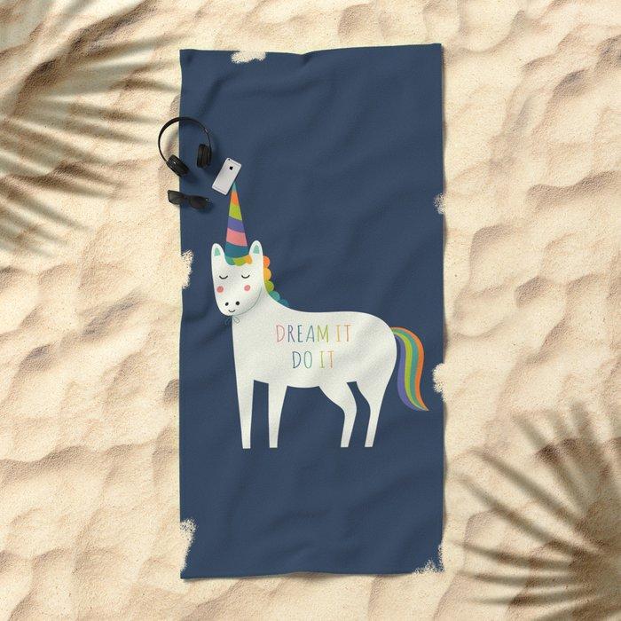 Dream It Do It Beach Towel