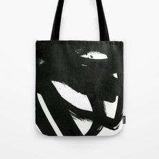 black on white 1 Tote Bag