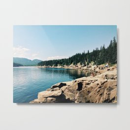 Otter Point - Acadia National Park, Maine Metal Print