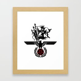 The Satanic Eagle Framed Art Print