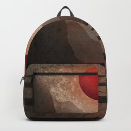 An Unfamiliar Place (A Familiar Path to Follow) Backpack