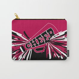 Hot Pink Cheerleader Design Carry-All Pouch