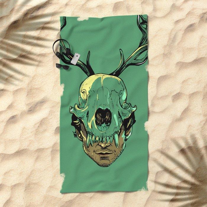 Shiizakana Beach Towel