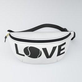 Love Tennis   Sports Racket Art Work Gift Fanny Pack