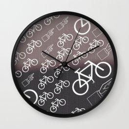 """""""Ride or Die V1"""" Wall Clock"""
