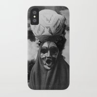 demon iPhone & iPod Cases featuring Demon by Mrs Araneae