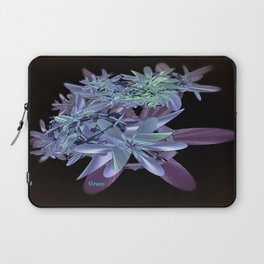 Blue Beauty Laptop Sleeve