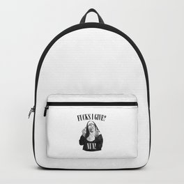 Fucks I Give, Nun, Funny, Quote Backpack