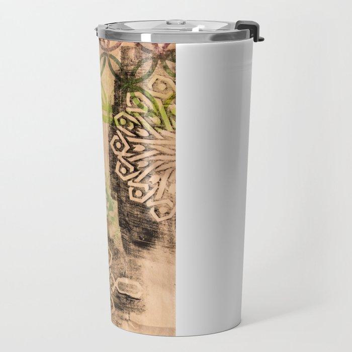 Patterned to Win Travel Mug