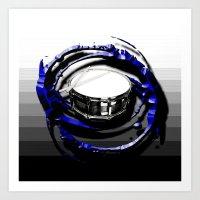 drum Art Prints featuring Music - Drum by yahtz designs