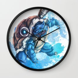 Hydro Pump Wall Clock