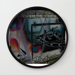 Remote Yachting Wall Clock
