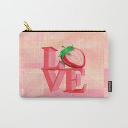 I LOVE STRAWBERRY Carry-All Pouch