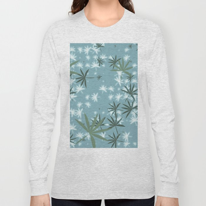 Palm Leaf 1 N.4 Long Sleeve T-shirt