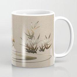 Flamingo in Gold Coffee Mug