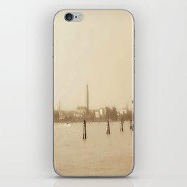 Venice in Sepia iPhone Skin