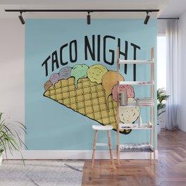 Ice Cream Taco Night Wall Mural
