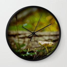 Where witches, ghosts and wolves appear - Quote - Photography #Society6 Wall Clock