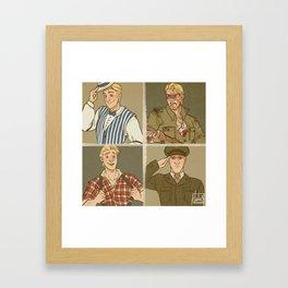 Till We Meet Again - Kristoff Framed Art Print