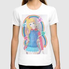 Rainbow Brite- inspired T-shirt