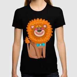 lion cartoon  cute T-shirt