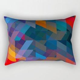Obscured. Rectangular Pillow
